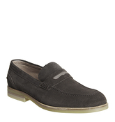Hudson London Accrington Penny Loafer CHOCOLATE