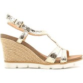 Le Chicche  BF7244/5 Wedge sandals Women Gold  women's Sandals in Gold