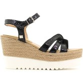 Laura Biagiotti  1088 Wedge sandals Women Black  women's Sandals in Black