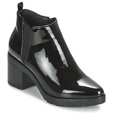 Moony Mood  FLOUGO  women's Low Ankle Boots in Black