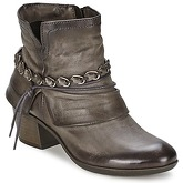 Dream in Green  KHAFIR  women's Mid Boots in Brown