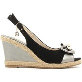 Laura Biagiotti  816 Wedge sandals Women Black  women's Sandals in Black