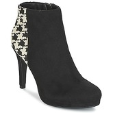 Moony Mood  FILO  women's Low Ankle Boots in Black