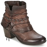 Dream in Green  JASSEM  women's Mid Boots in Brown