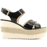 Carmens Padova  A37217 Wedge sandals Women Black  women's Sandals in Black