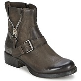 Dream in Green  TOUFAYL  women's Mid Boots in Brown