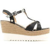 Laura Biagiotti  1102 Wedge sandals Women Black  women's Sandals in Black