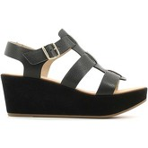 Carmens Padova  A37172 Wedge sandals Women Black  women's Sandals in Black