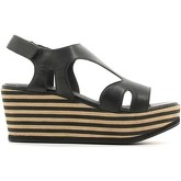 Carmens Padova  A37278 Wedge sandals Women Black  women's Sandals in Black