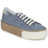No Name  SUNSET SNEAKER  women's Shoes (Trainers) in Blue