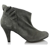 Vienty  booty elegant short  women's Low Boots in Grey
