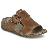 Fly London  TUTE  women's Mules / Casual Shoes in Brown