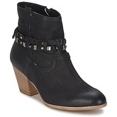 Dream in Green  AMBRE  women's Low Ankle Boots in Black