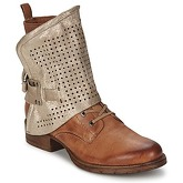 Dream in Green  EUGENIO  women's Mid Boots in Brown
