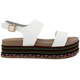 London Rag  Sozy  women's Sandals in White