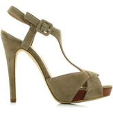 Carmens Padova  A33152 006 High heeled sandals Women Stone  women's Sandals in Grey
