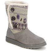 Skechers  KEEPSAKE CARDIGAN  women's Low Ankle Boots in Grey