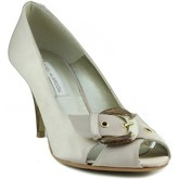Angel Alarcon  party shoe Open  women's Court Shoes in Gold