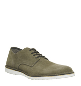 Ask the Missus Gear Wedge Shoe TAUPE SUEDE