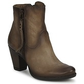 Dream in Green  QUIZILO  women's Low Ankle Boots in Brown