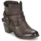 Dream in Green  NELTONE  women's Low Ankle Boots in Brown
