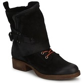 Dream in Green  SIBELLI  women's Mid Boots in Black