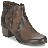 Dream in Green  IELENA  women's Low Ankle Boots in Brown
