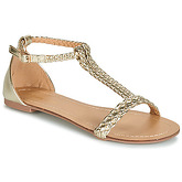 Moony Mood  GEMINIELLE  women's Sandals in Gold