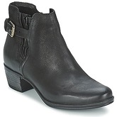 Dream in Green  GALINA  women's Mid Boots in Black