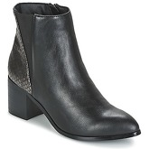 Moony Mood  FIKLO  women's Low Ankle Boots in Black