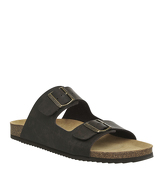 Office Dubai Buckle Sandal DARK BROWN