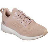 Skechers  BOBS SQUAD TOTAL GLAM  women's Shoes (Trainers) in Pink