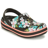 Crocs  CROCBAND SEASONAL GRAPHIC CLOG  women's Clogs (Shoes) in Black