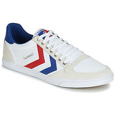 Hummel  SLIMMER STADIL LOW  men's Shoes (Trainers) in White