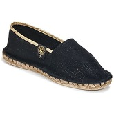 Art of Soule  LUREX  men's Espadrilles / Casual Shoes in Black
