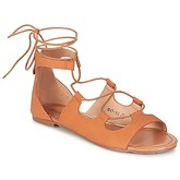 Moony Mood  GUALDIME  women's Sandals in Brown
