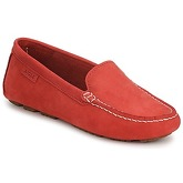 Aigle  LONGLAKE CR W  women's Loafers / Casual Shoes in Red