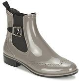 Be Only  TOWER  women's Wellington Boots in Grey