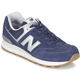 New Balance  ML574  women's Shoes (Trainers) in Blue