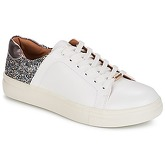 Only  ONLSARINA PLAIN SNEAKER  women's Shoes (Trainers) in White