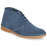 Selected  SHH ROYCE LIGHT SUEDE BOOT  men's Mid Boots in Blue