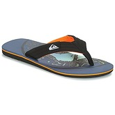 Quiksilver  MOLOKAI LAYBACK M SNDL XKNG  men's Flip flops / Sandals (Shoes) in Black