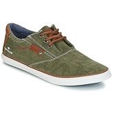 Tom Tailor  UMEUTI  men's Shoes (Trainers) in Green