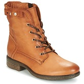 Dream in Green  GANAPA  women's Mid Boots in brown