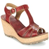 Fly London  GOLDY  women's Sandals in Red