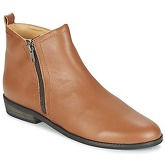 So Size  SINGLER  men's Mid Boots in Brown