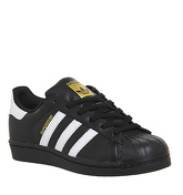 Adidas Superstar 1 BLACK WHITE FOUNDATION