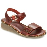 Fly London  COMB  women's Sandals in Brown