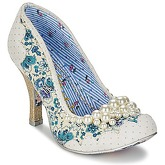 Irregular Choice  PEARLY GIRLY  women's Court Shoes in White