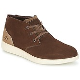 Skechers  STATUS  men's Mid Boots in Brown